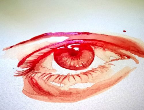 Die monatliche Blutung der Frau
