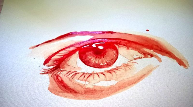 Die monatliche Blutung der Faru abbilderei Susanne Schulz